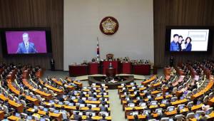 대통령 예산 시정연설 키워드는 '포용·공정'…기업 부담 가중 우려도