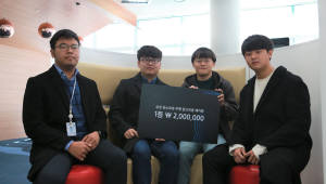 DGIST 학부생, 청소로봇 자율주행차 알고리즘으로 'SOSCON'에서 대상 차지