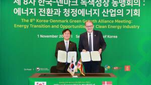 한국-덴마크 재생에너지 및 에너지신산업 협력 MOU