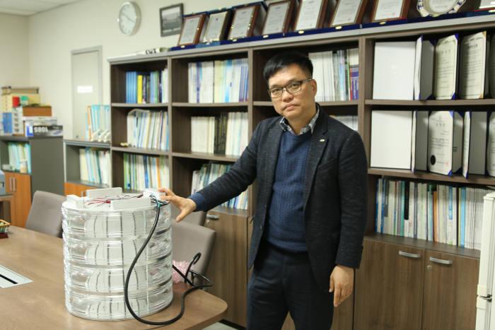 송상빈 한국광기술원 조명융합연구본부장.