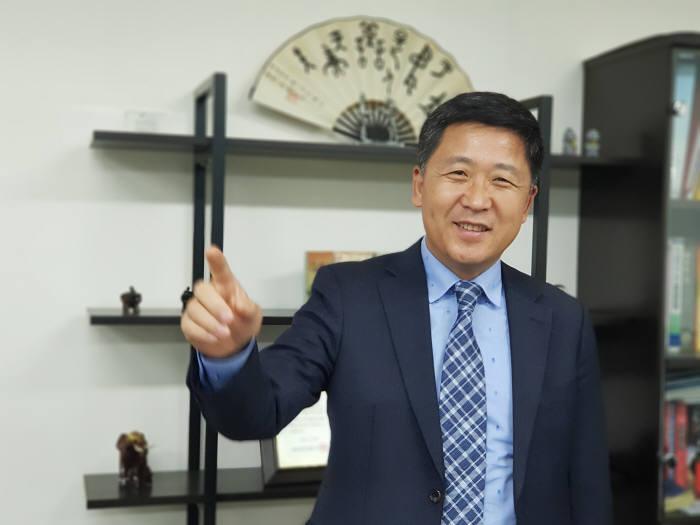 안영걸 중국 연길시 서울주재부 대표
