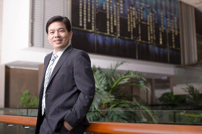 밀러창 어드밴텍 임베디드 사물인터넷(EIoT)부문 총괄사장이 지난 2일 중국 쑤저우에서 개최된 어드밴텍 IoT 코-크리에이션 서밋에서 전자신문 인터뷰를 통해 어드밴텍 솔루션 레디 패키지(SRP) 전략을 전했다.