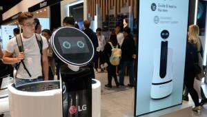 LG전자-이마트 스마트카트 로봇 공동개발
