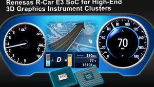 일 르네사스, 자동차용 시스템온칩 'R- Car E3' 샘플 출하