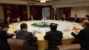 철도연, 중국·일본과 철도분야 기술협력 장 열어