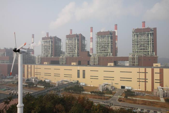 보령화력발전소.