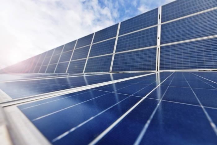 태양광모듈. ⓒ케티이미지뱅크