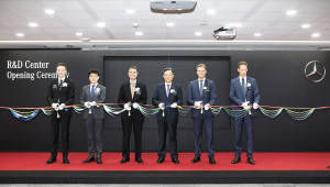벤츠, 미래차 아시아 허브 'R&D 코리아 센터' 키운다