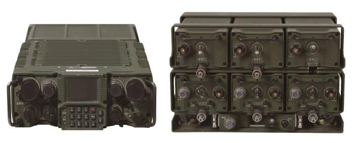 디지털무전기(TMMR) 제품 이미지. LIG넥스원 제공