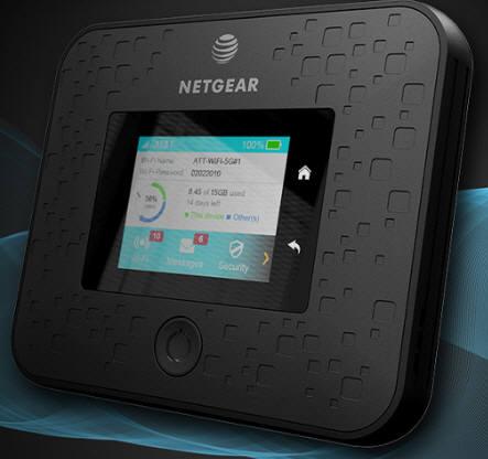 AT&T가 공개한 넷기어 나이트호크 5G 모바일핫스팟
