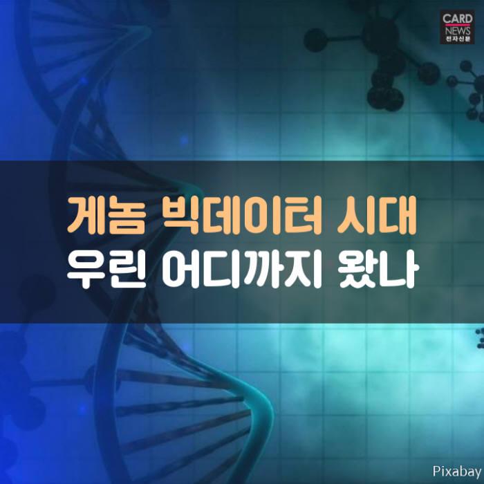 [카드뉴스]게놈 빅데이터 시대, 우린 어디까지 왔나
