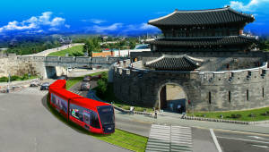 수원시, 2022년 친환경 대중교통 '트램' 개통