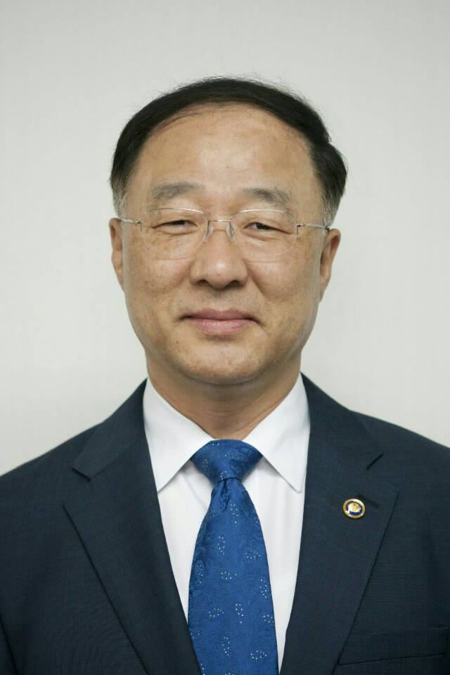 홍남기 신임 국무조정실장.