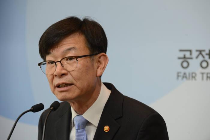 김상조 공정거래위원장.