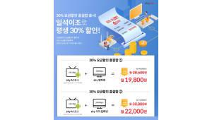 {htmlspecialchars(KT스카이라이프, 결합가입 110% 늘어 ···'30% 요금할인 홈결합' 적중)}