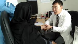 힘찬병원, UAE 샤르자대학병원 내 '관절·척추센터' 진료 개시