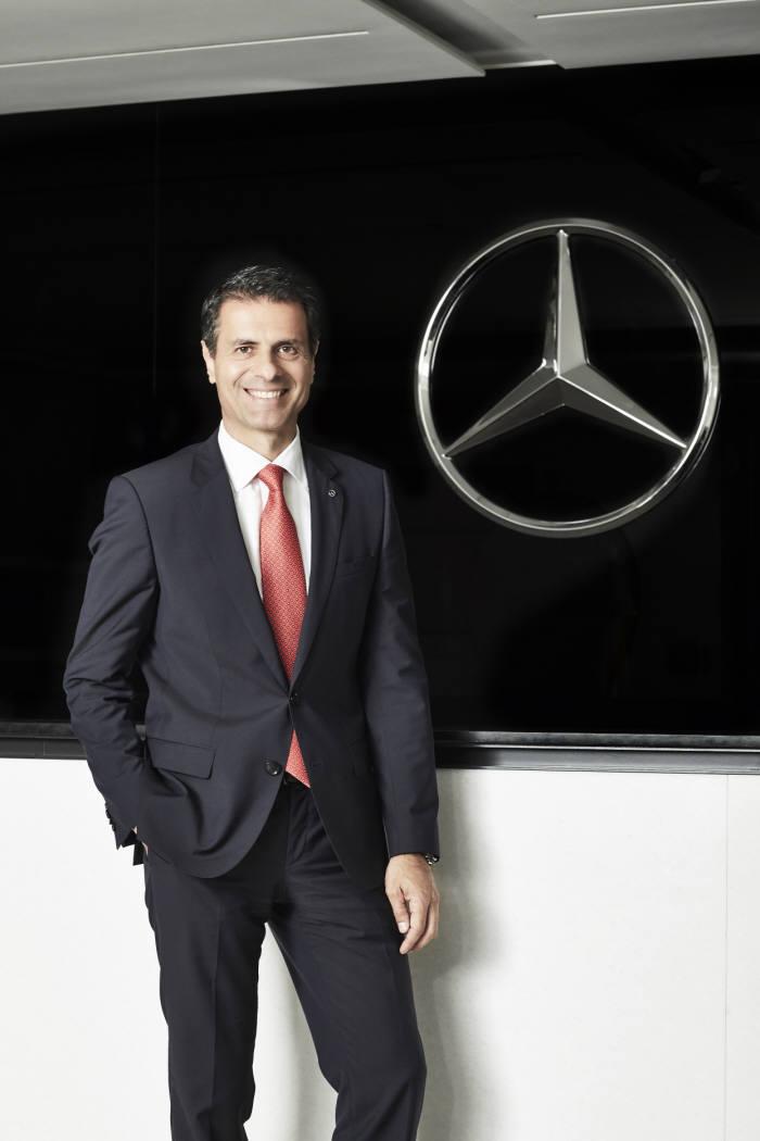 Dimitris Silakis Mercedes - Benz President of Korea.