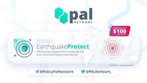 암호화폐 지진 보험 등장