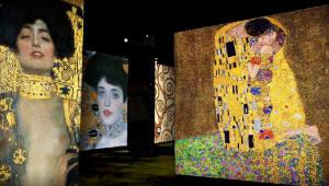 엡손, 미디어아트 '빛의 벙커:클림트' 전서 3LCD 고광량 프로젝터 선보여