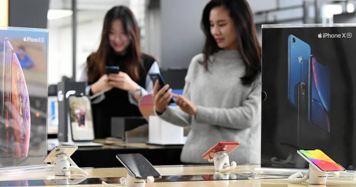 아이폰XR 가장 많이 팔린 모델?