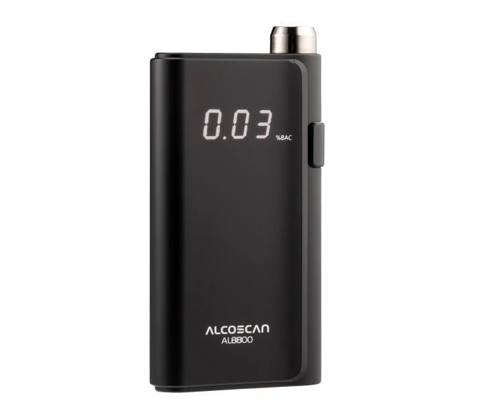 센텍코리아가 출시한 개인용 음주측정기 신제품 알코스캔 AL8800.