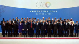 [국제]G20정상회의 공동성명 채택…보호무역 언급 피하고 WTO개혁 지지