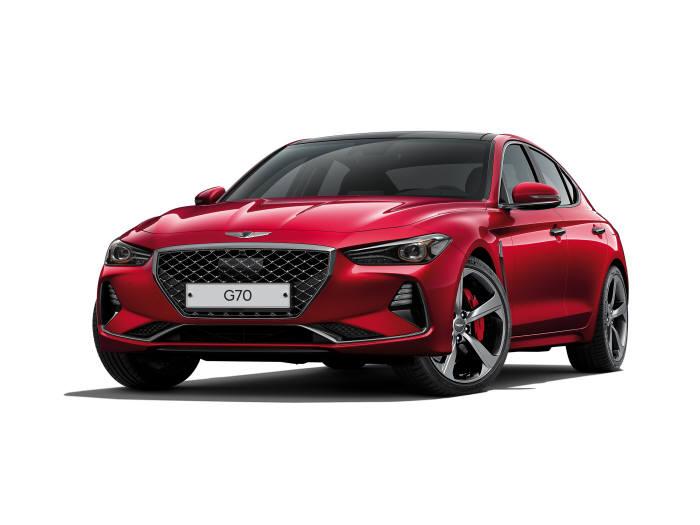 미국 자동차 전문지 모터트렌드가 선정한 2019 올해의 차 제네시스 G70 가솔린 3.3 터보 스포츠 (제공=제네시스)