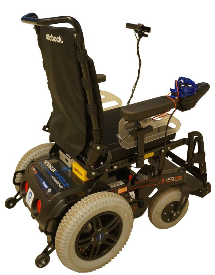 윌리 7 키트를 사용한 전동 휠체어<사진 인텔코리아>