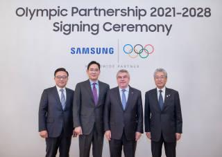 삼성전자 2028년 하계올림픽까지 올림픽 후원한다