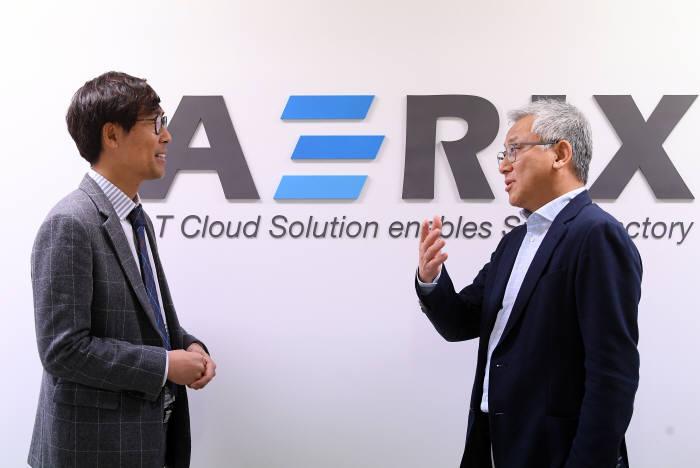 """[데스크가 만났습니다] 김군호 에어릭스 사장, """"굴뚝산업을 아는 IoT 기업 되겠다"""""""