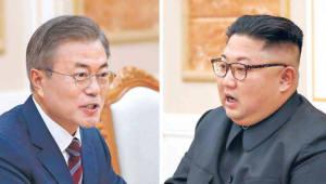 """靑 """"김정은 연내 답방,  진척 상황 없어"""""""
