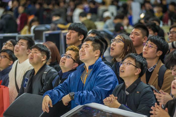 미래 지스타를 만들어갈 예비게임인들이 오는 20일 서울 삼성동 코엑스에 모인다. 사진은 지난달 열린 부산 지스타2018 현장 모습.