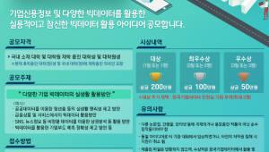 한국기업데이터, '기업 빅데이터 활용 대학생 아이디어 공모전' 개최