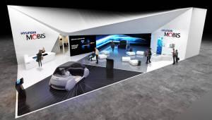 현대모비스, 가상공간 터치·유리창 디스플레이 등 신기술 CES 2019 공개