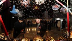 국립광주과학관, '수학나라의 앨리스' 개막…상징조형물 기공