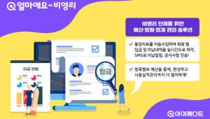 [2018 하반기 인기상품]품질우수-아이퀘스트 비영리단체 회계관리솔루션 '얼마에요-비영리'
