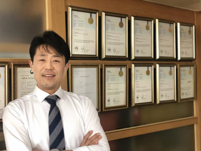 김한주 에스엘테크 대표.