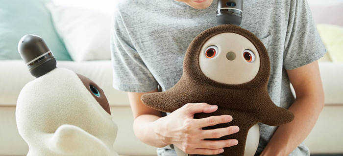 그루브엑스가 개발한 가정용 로봇 러봇
