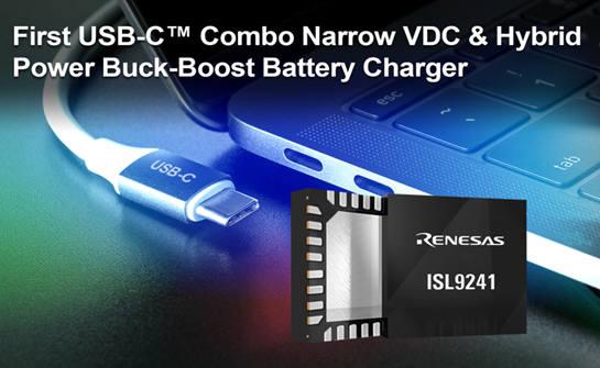 일 르네사스, 노트북 충전가능한 USB-C 타입 배터리 충전기 출시