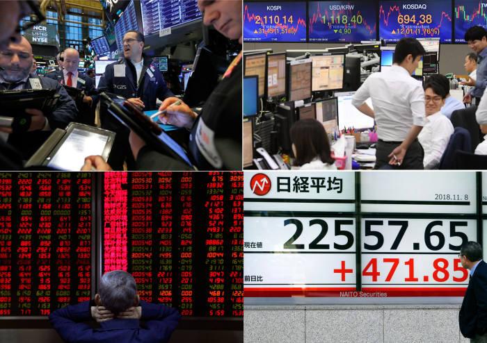 세계 경제 둔화 우려 확산…美·日주가 연쇄 폭락