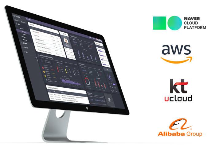 넷앤드 하이웨어는 KT, 아마존웹서비스(AWS), 알리바바, 네이버 등에서 클라우드 서비스를 제공하고 있다.