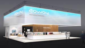 코웨이, 물·공기·생활환경 솔루션으로 4년연속 CES 참가