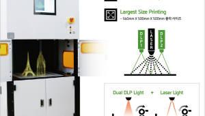 하이비젼시스템, 고속으로 고품질 대형 출력 가능한 3D 프린터 개발