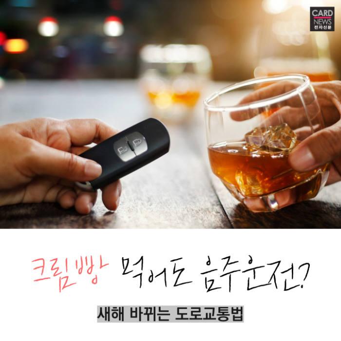[카드뉴스]크림빵 먹어도 음주운전?