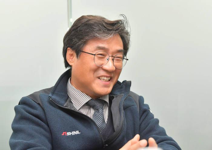 정윤석 신일산업 대표, 사진=박지호기자 jihopress@etnews.com