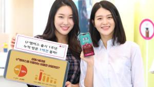 'U+멤버스' 출시 1년··· 누적 방문 1억건 돌파