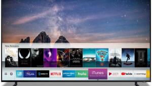 [CES2019]삼성전자 애플과 맞손...스마트TV에 아이튠즈 넣는다