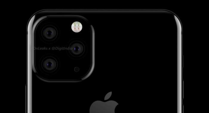 애플 아이폰XI 추청 렌더링 이미지(사진:트위터 @onleaks)