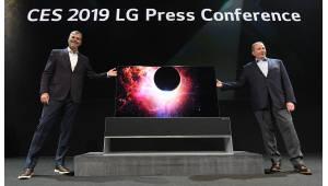 [CES 2019]삼성·LG 차세대TV도 확실한 주도권...QD OLED·롤러블·마이크로LED 선제 공세