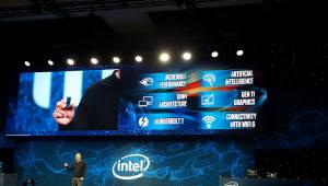 """[CES2019]인텔, 10나노 CPU'아이스 레이크'공개...""""미래 모바일컴퓨팅 주도권확보"""""""